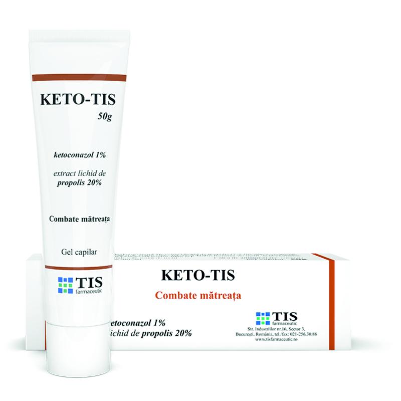 Keto-Tis gel capilar, 50 g, Tis Farmaceutic