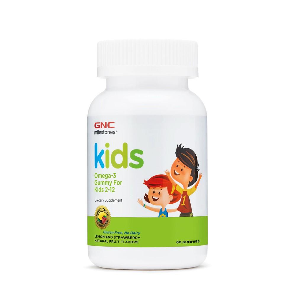 Kids Milestones Omega-3 pentru Copii (980784), 60 Jeleuri, GNC