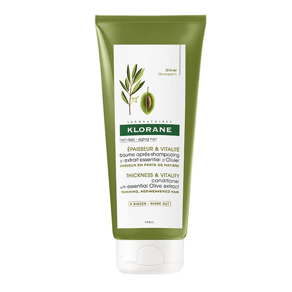Balsam cu extract cu măslin pentru păr care se rărește, 200 ml, Klorane