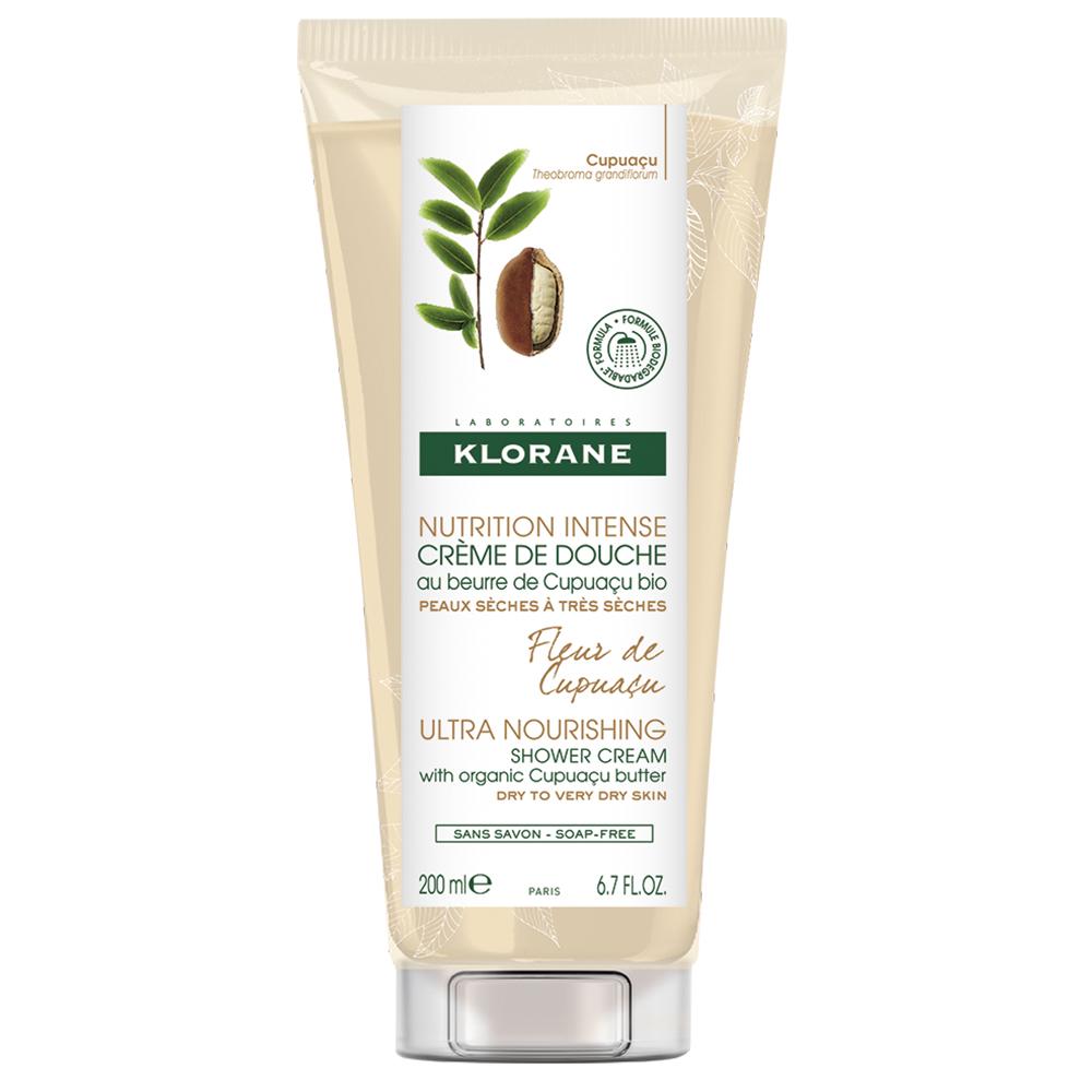 Crema de dus cu floare de Capuacu Nutrition Intense, 200 ml, Klorane