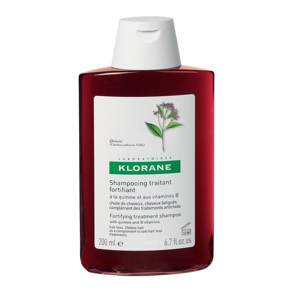 Șampon stimulant și fortifiant cu chinină și vitamine B, 200 ml, Klorane