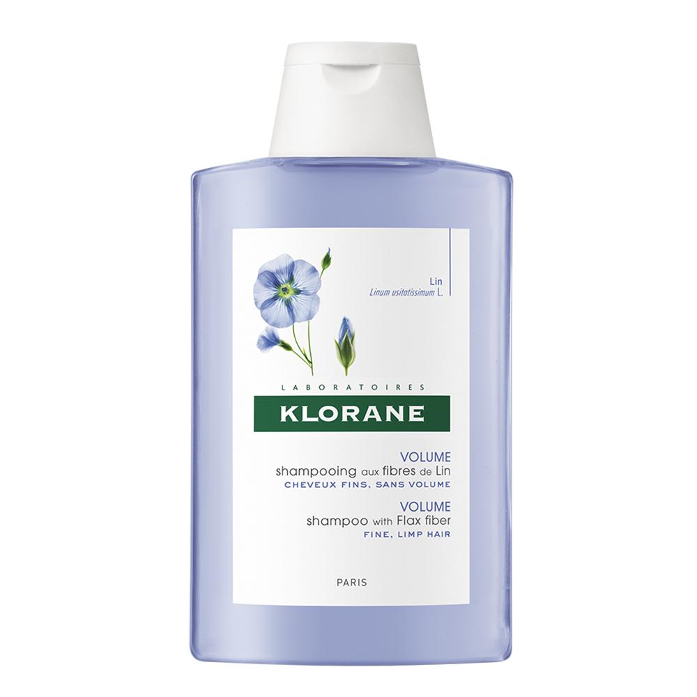 Șampon pentru volum cu extract din fibra de in, 200 ml, Klorane