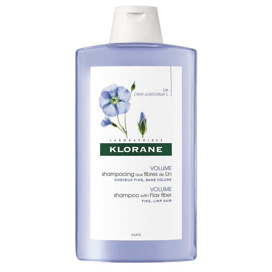Șampon pentru volum cu fibra de in, 400 ml, Klorane