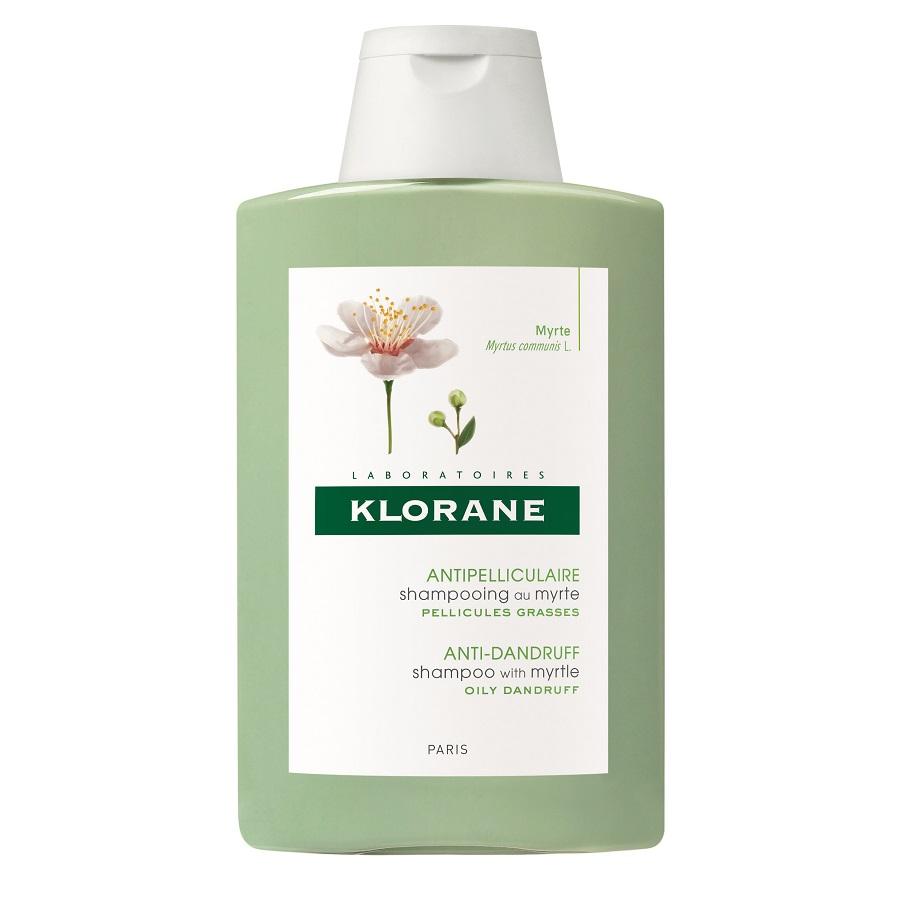 Șampon antimătreață și reechilibrant cu extract de mirt, 200 ml, Klorane