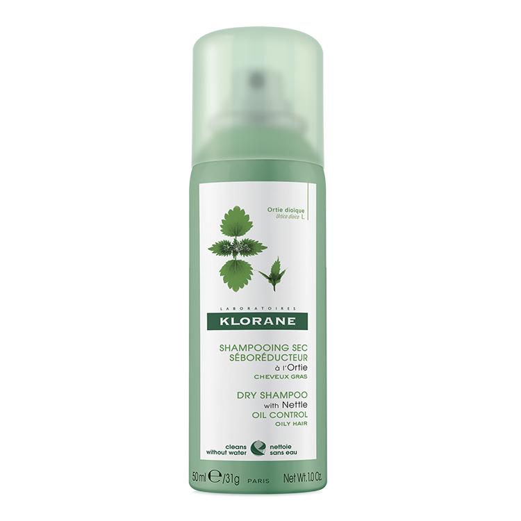 Șampon uscat cu extract de urzică, 50 ml, Klorane