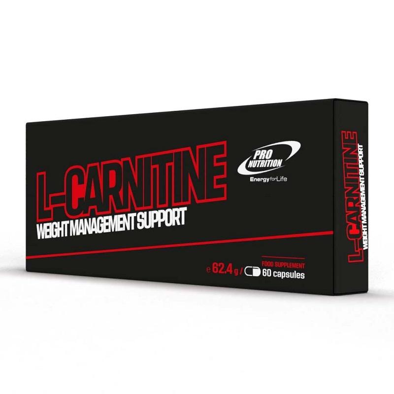 L-Carnitina, 60 capsule, Pro Nutrition