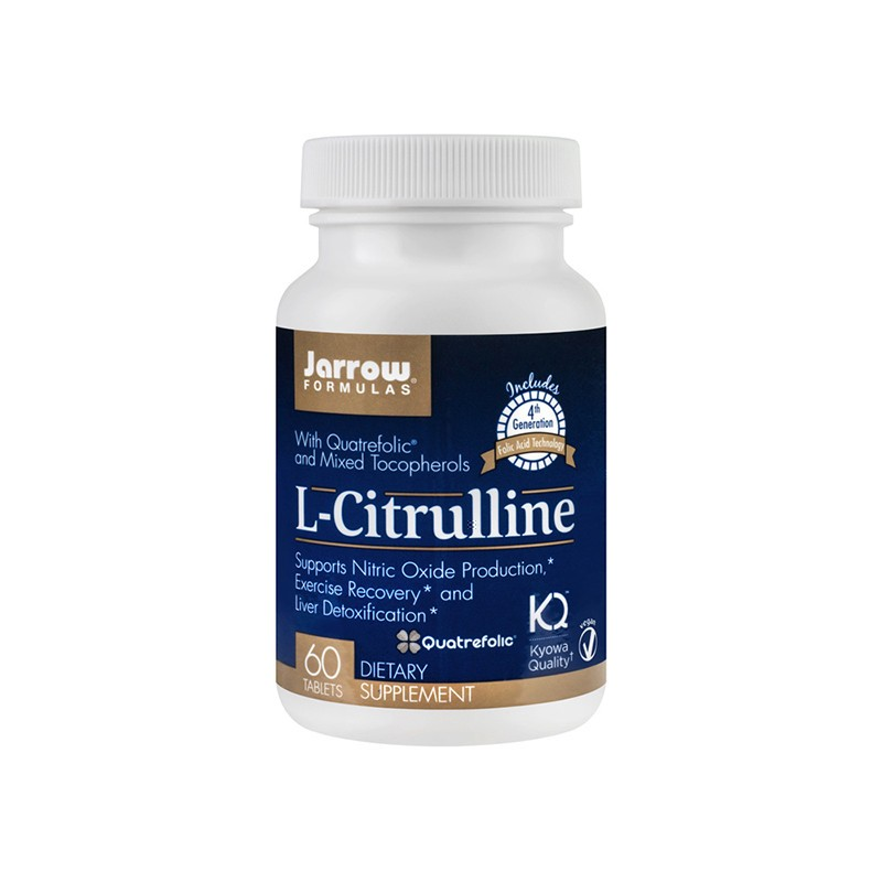 L-Citrulline Jarrow Formulas, 60 tablete, Secom