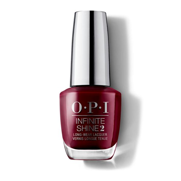 Lac de unghii cu efect de gel Infinite Shine Collection Malaga Wine, 15 ml, OPI