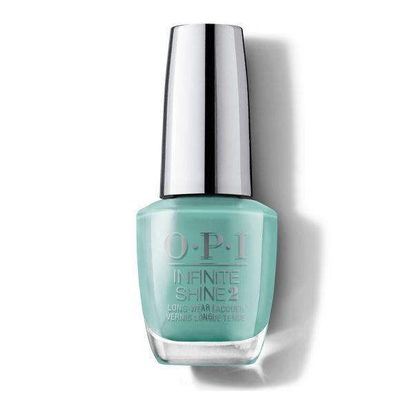 Lac de unghii cu efect de gel Infinite Shine Mexico Collection Verde Nice to Meet You, 15 ml, OPI