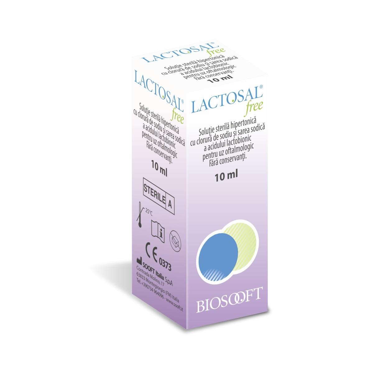 Lactosal free, 10 ml, Biosooft