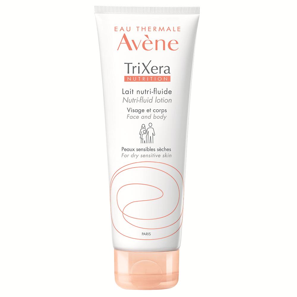Lapte hidratant pentru piele sensibila si uscata TriXera Nutrition, 200 ml, Avene