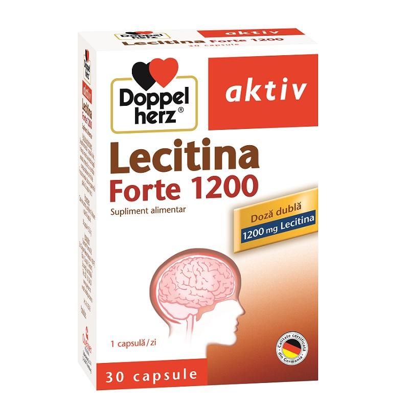 Lecitina Forte 1200 pentru ajutarea creierului, 30 capsule, Doppelherz