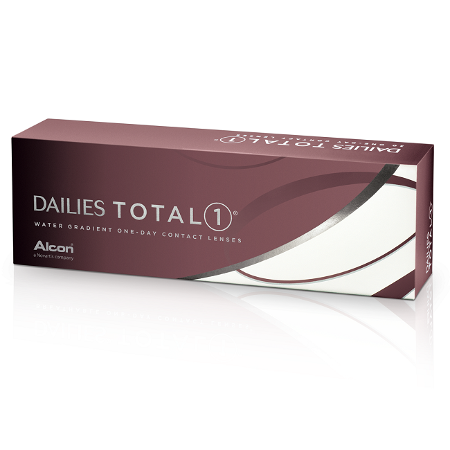Lentile de contact -0.75 Dailies Total1, 30 bucati, Alcon