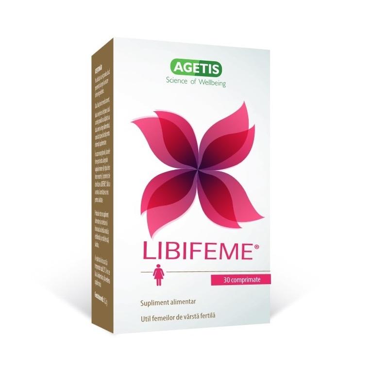 Libifeme, 30 comprimate, Agetis