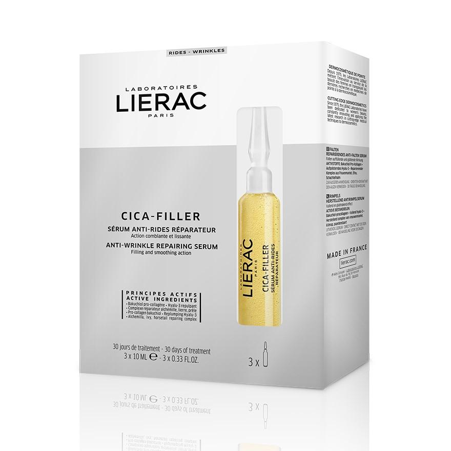 Lierac Cica-Filler ser reparator antirid, 3 fiole x 10 ml, Lierac