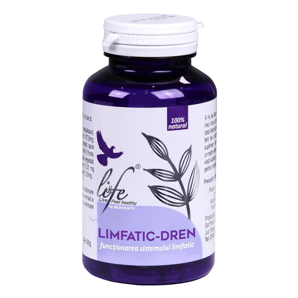 Limfatic-dren, 120 capsule, Bionovativ
