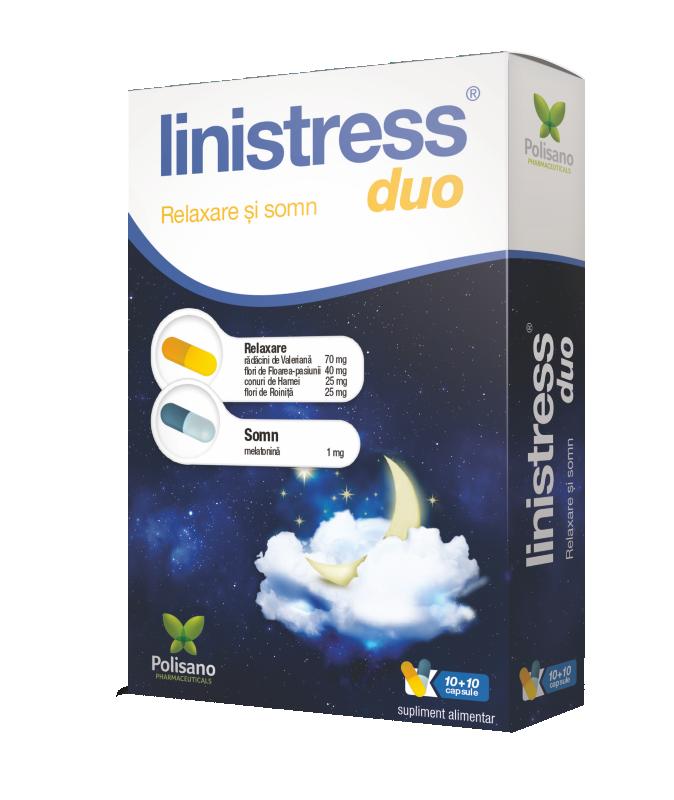 Linistress Duo, 20 capsule, Polisano