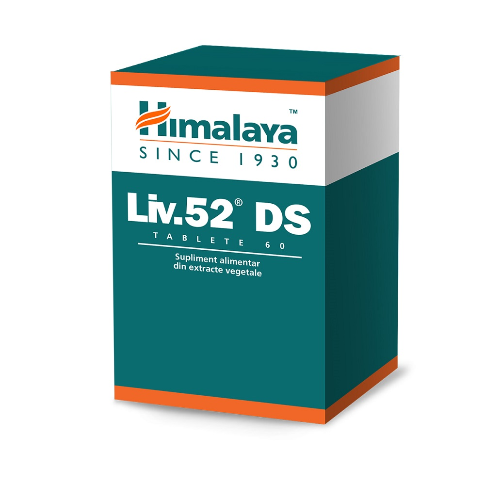 Liv 52 DS, 60 tablete, Himalaya