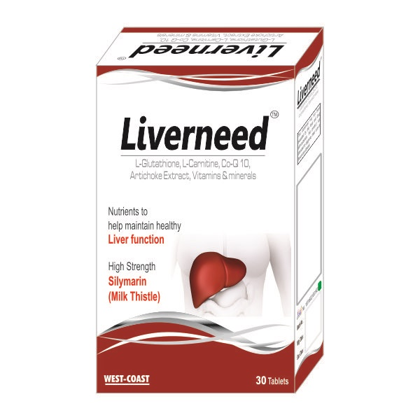 Liverneed complex hepatoprotector, 30 tablete, EsVida Pharma