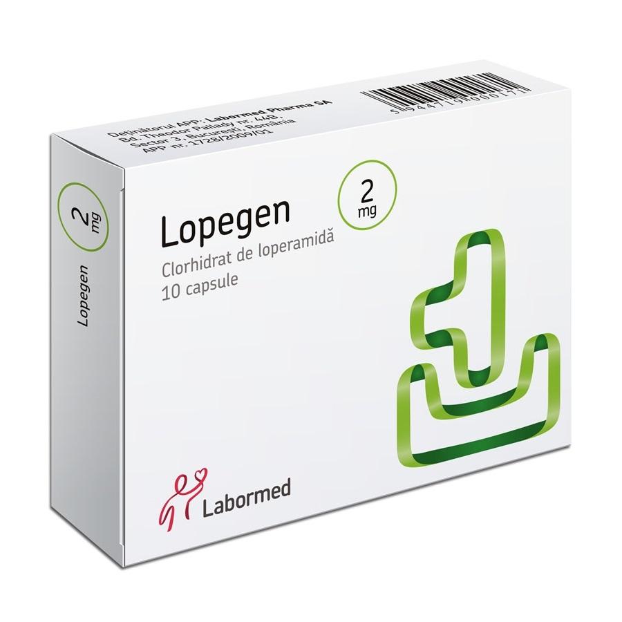 Lopegen 2 mg, 10 capsule, Labormed