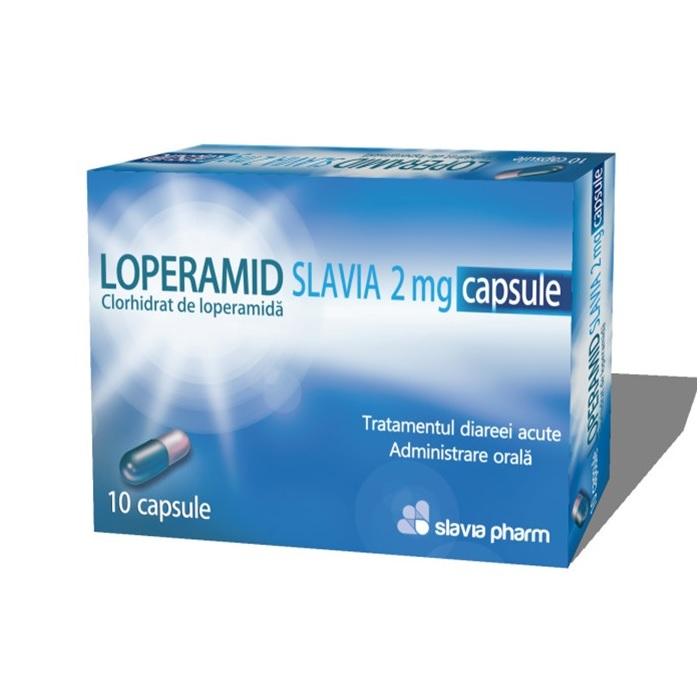 Loperamid 2 mg, 10 capsule, Slavia Pharm