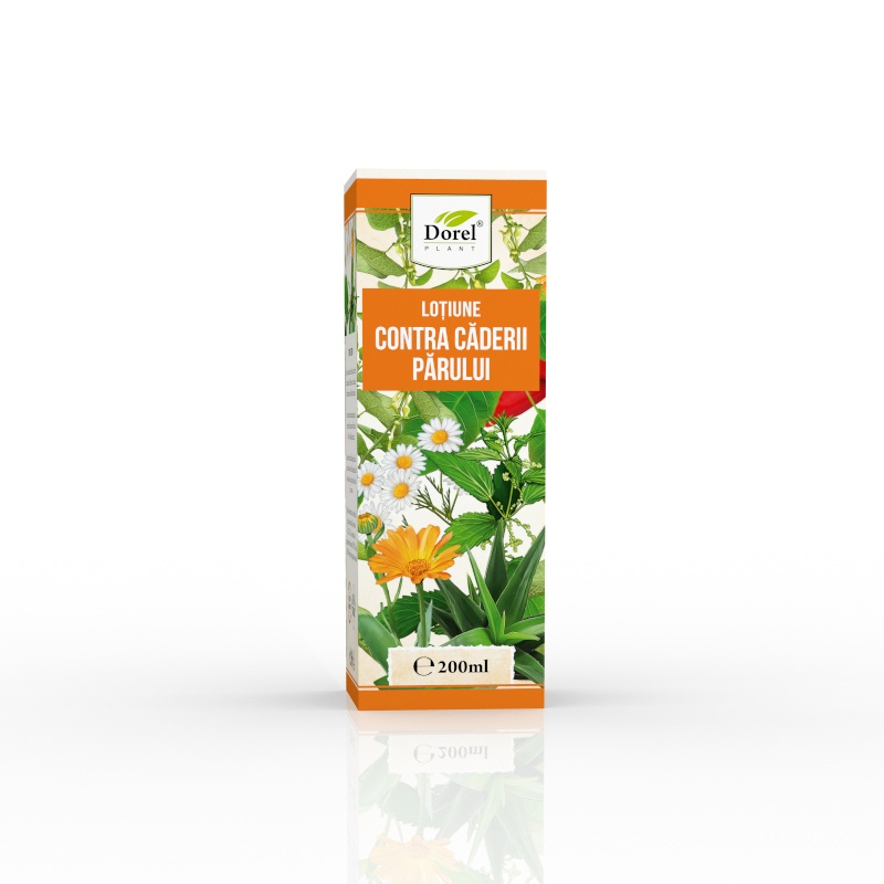 Lotiune contra caderii parului, 200 ml, Dorel Plant