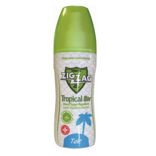 Lotiune de corp impotriva tantarilor Tropical Talc, 100 ml, Zig Zag