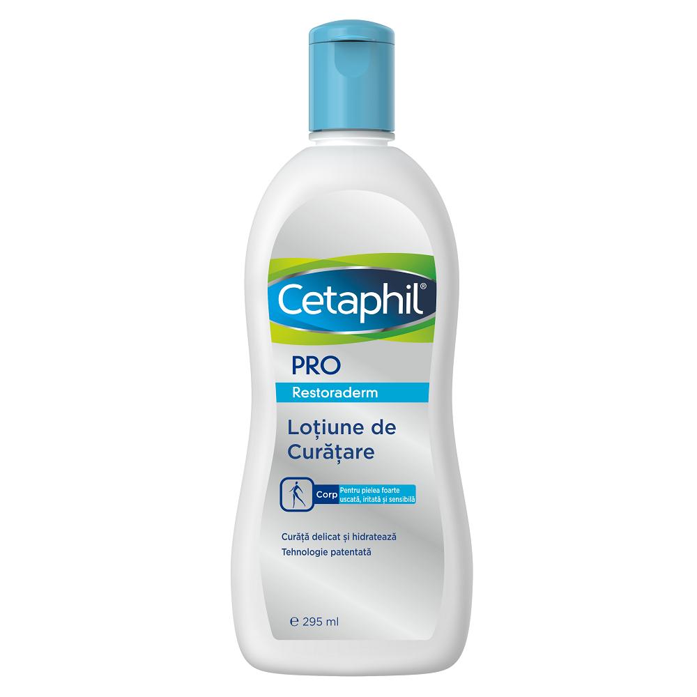 Loțiune de curățare Cetaphil PRO Restoraderm, 295 ml, Galderma