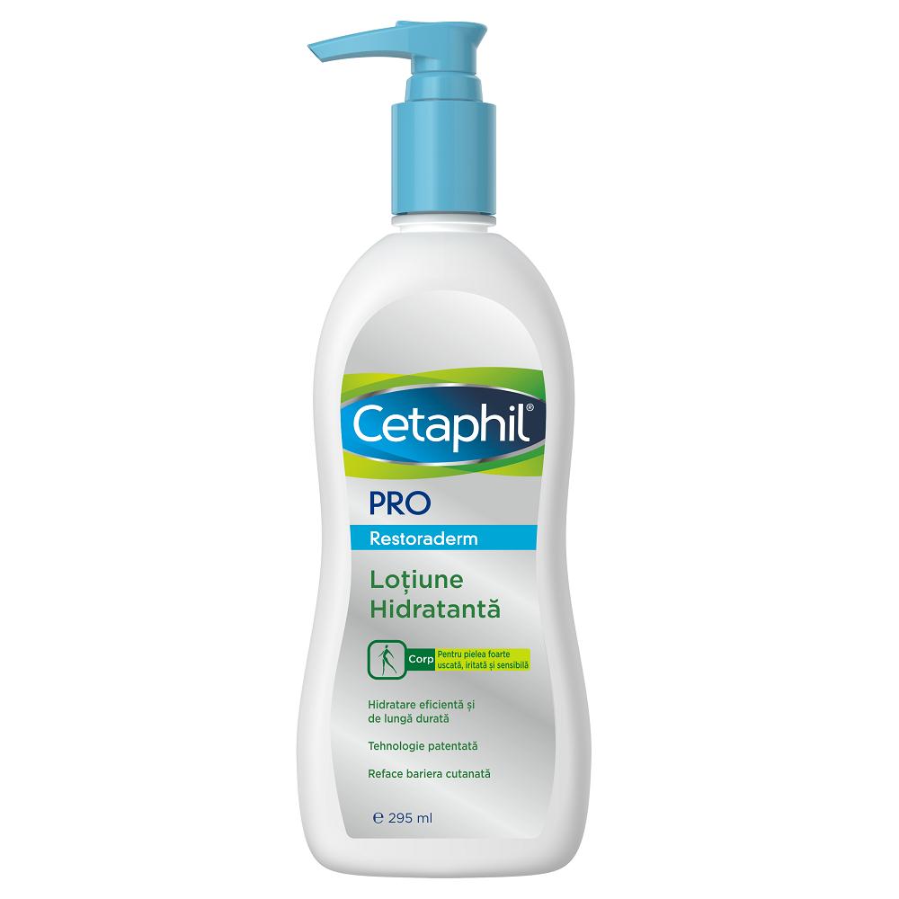 Loțiune hidratantă Cetaphil PRO Restoraderm, 295 ml, Galderma
