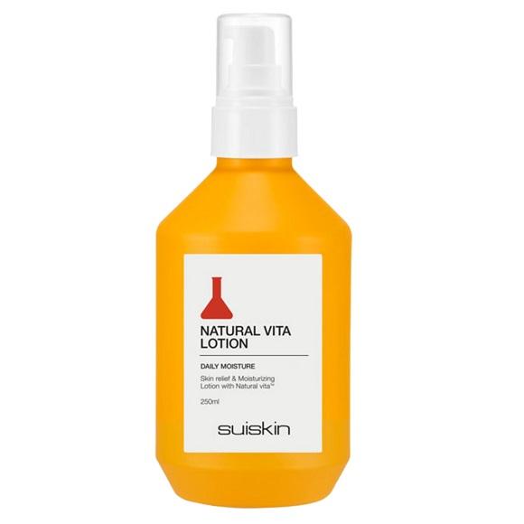 Lotiune hidratanta de fata Natural Vita, 250 ml, Suiskin