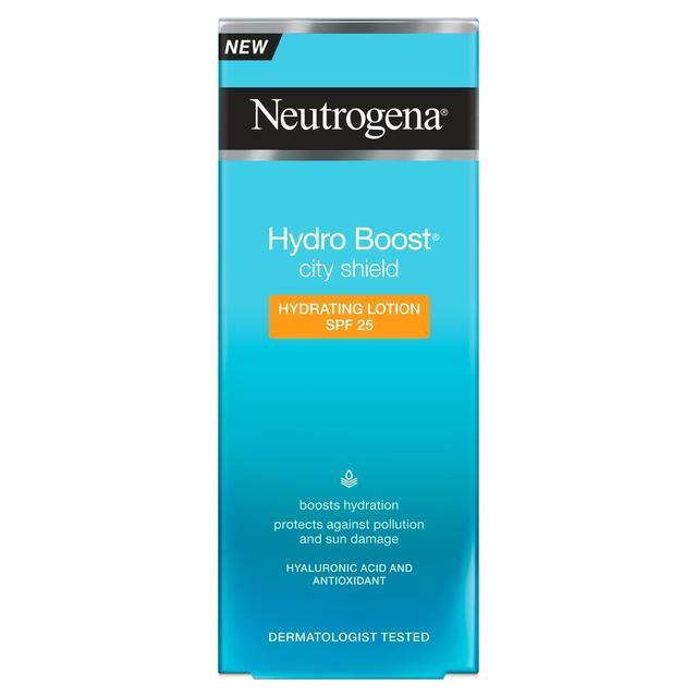 Loţiune hidratantă pentru față cu SPF 25 Neutrogena Hydro Boost, 50 ml, Johnson&Johnson
