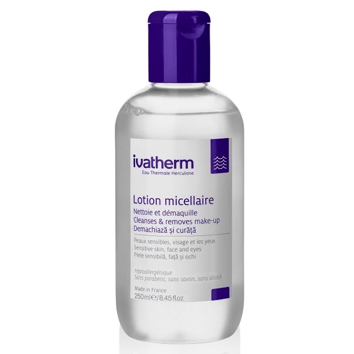 Lotiune micelara pentru piele sensibila, 250 ml, Ivatherm