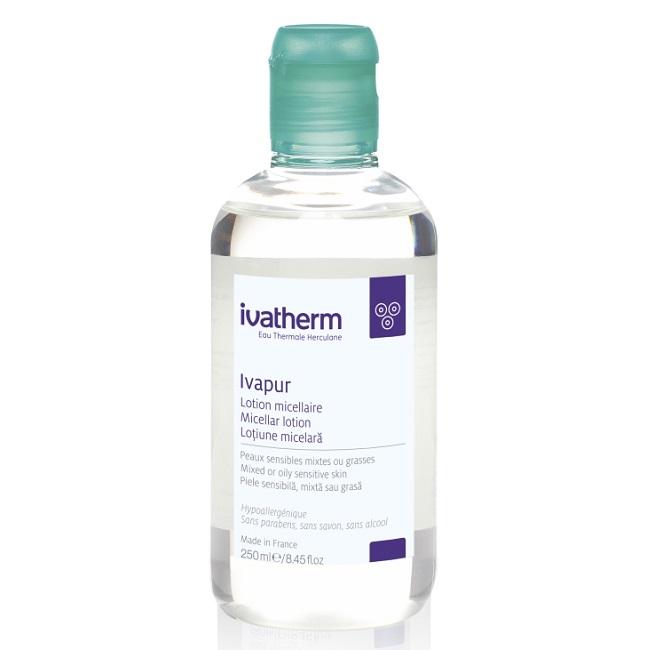 Lotiune micelara pentru piele sensibila, mixta sau grasa Ivapur, 250 ml, Ivatherm