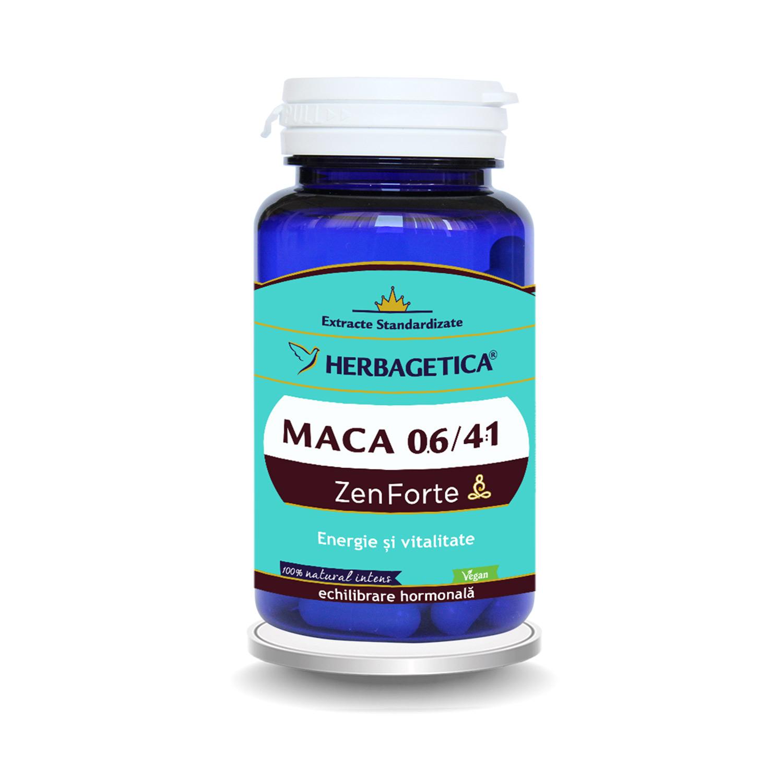 Maca Zen Forte 06/41, 30 capsule, Herbagetica