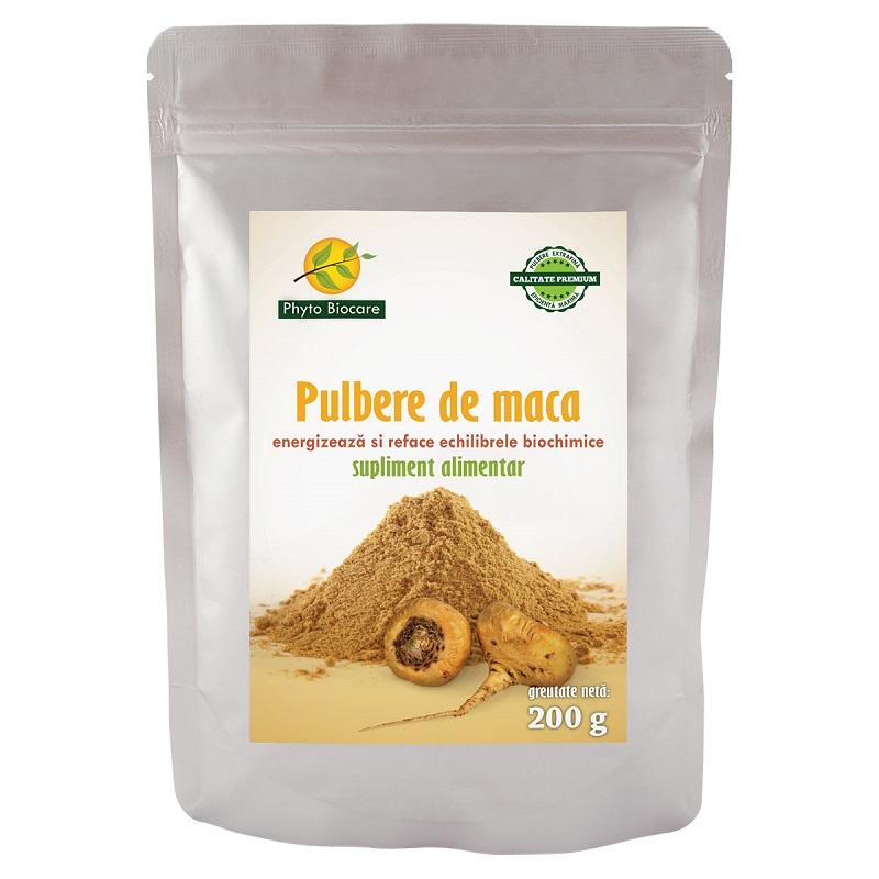 Pulbere de maca, 200 g, Phyto Biocare