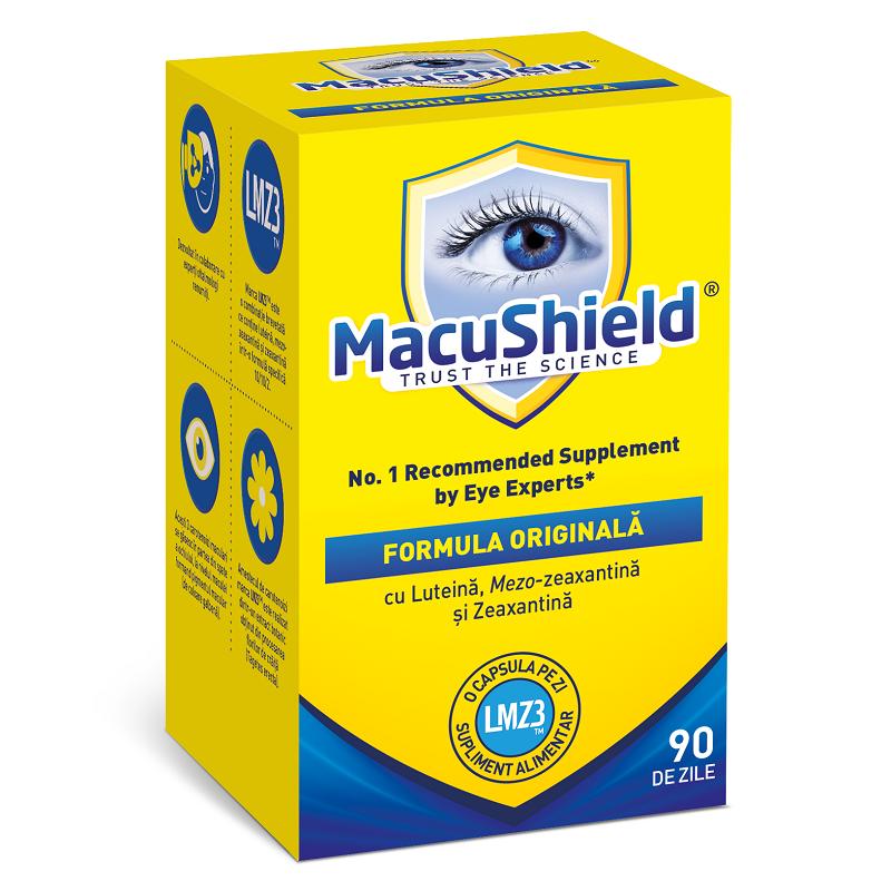 Macu Shield, 90 capsule, Macu Vision