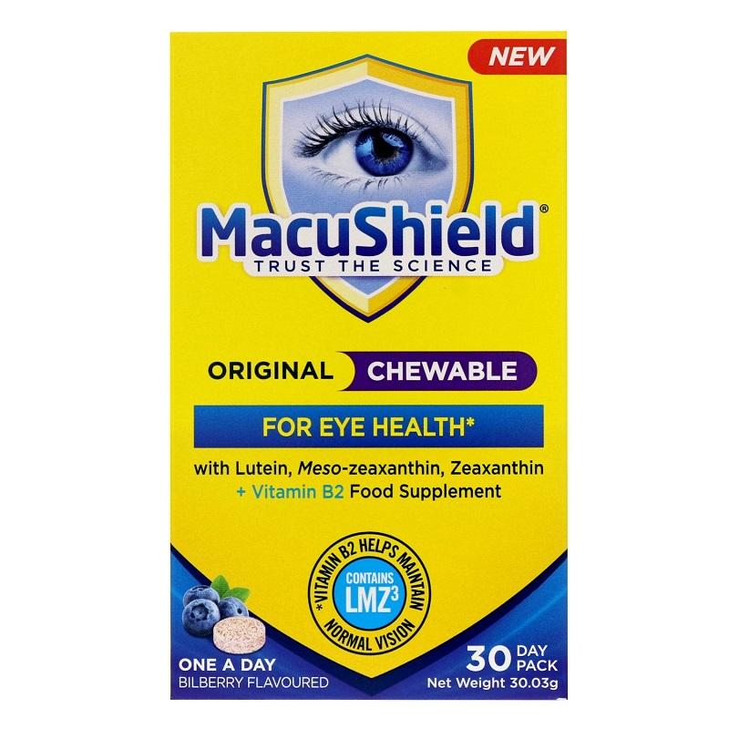 Macu Shield Chewable, 30 capsule orodispersabile, Macu Vision