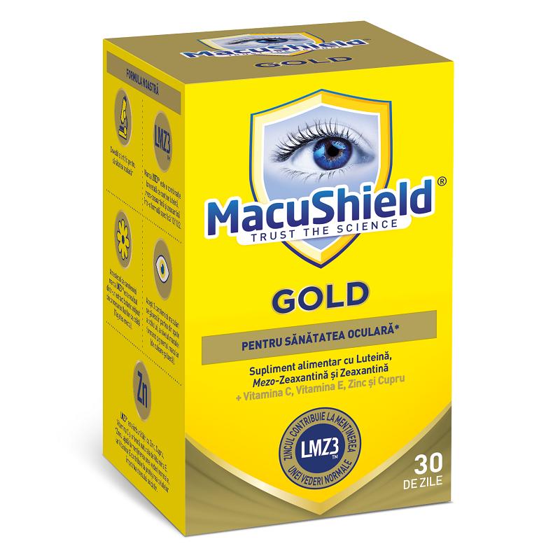 Macu Shield Gold, 90 capsule, Macu Vision