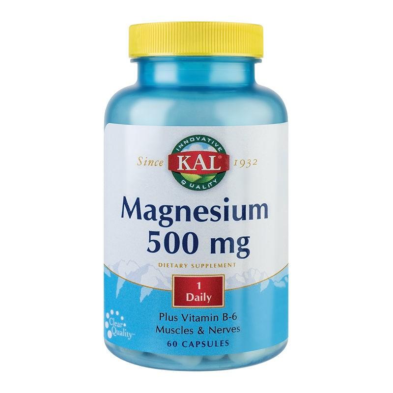 Magneziu 500mg Kal, 60 capsule, Secom