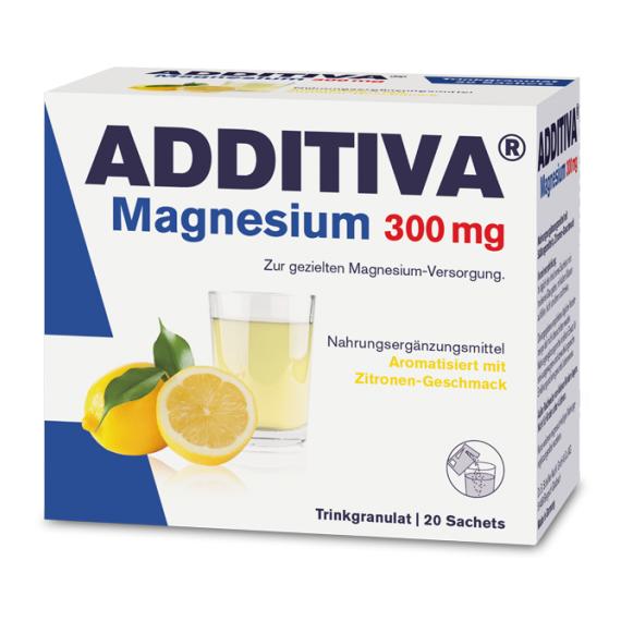 Magneziu 300 mg Additiva, 20 plicuri, Dr. Scheffler