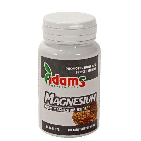 Magneziu 375mg, 30 tablete, Adams Vision