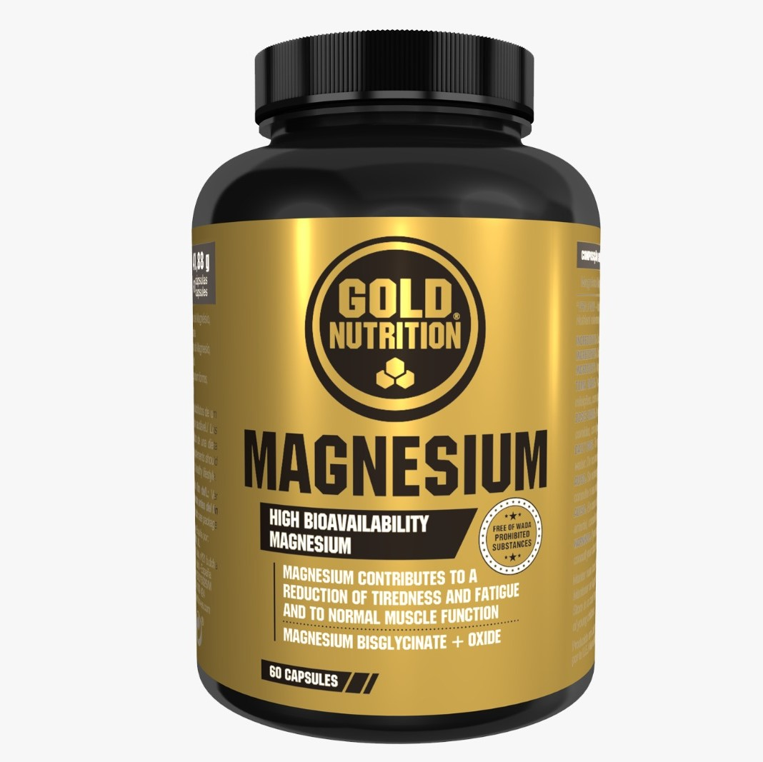 Magneziu 600 mg, 60 capsule, Gold Nutrition