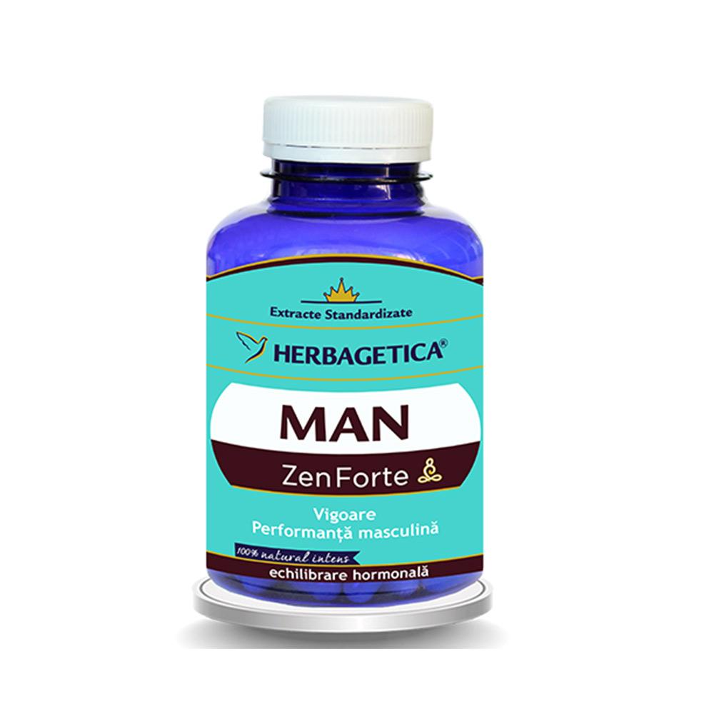 Man Zen Forte, 120 capsule, Herbagetica