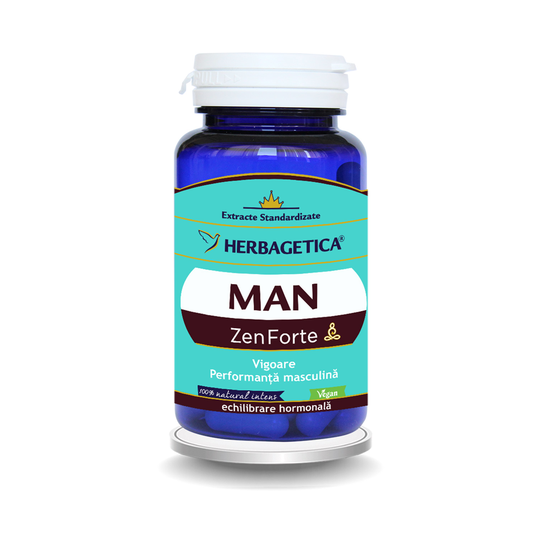 Man Zen Forte, 30 capsule, Herbagetica