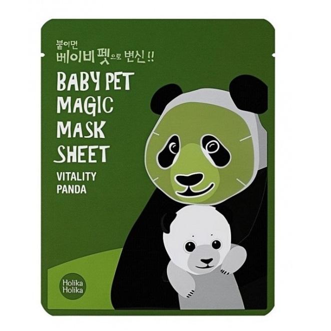 Masca Baby Pet Magic Panda, 22 ml, Holika Holika