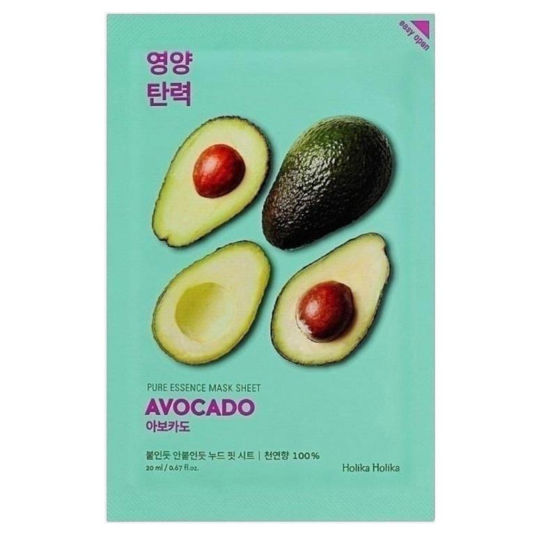 Masca cu avocado Pure Essence, 20 ml, Holika Holika