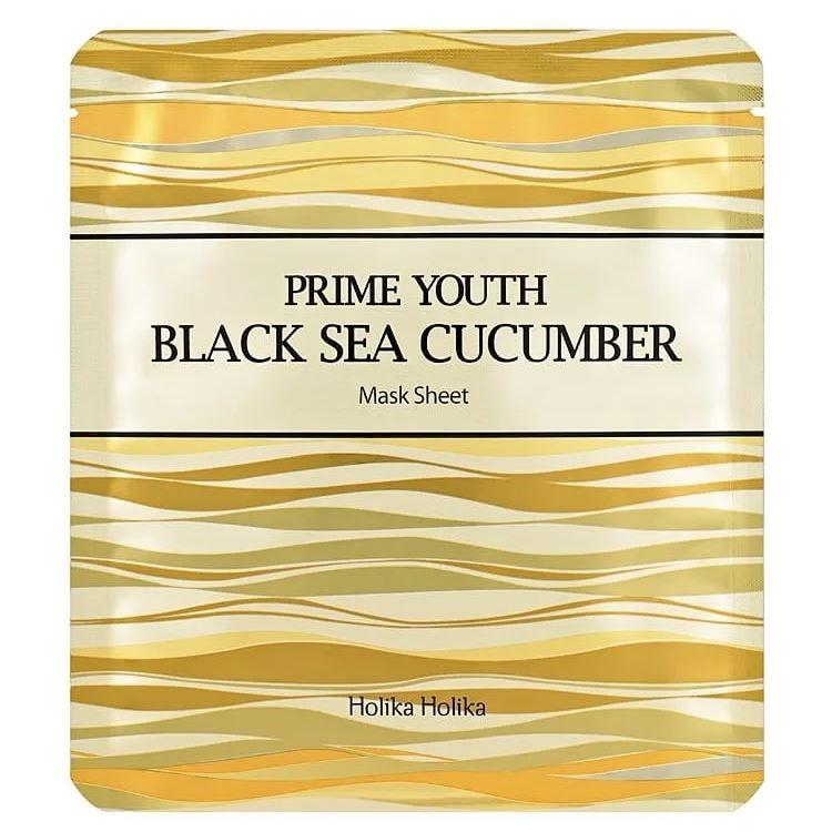 Masca cu extract de castravete negru de mare Prime Youth, 25 g, Holika Holika