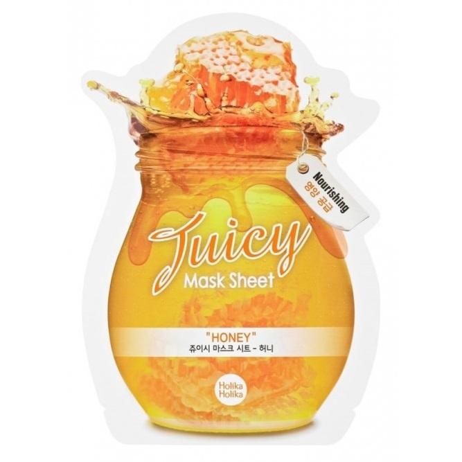 Masca cu miere Juicy, 20 ml, Holika Holika