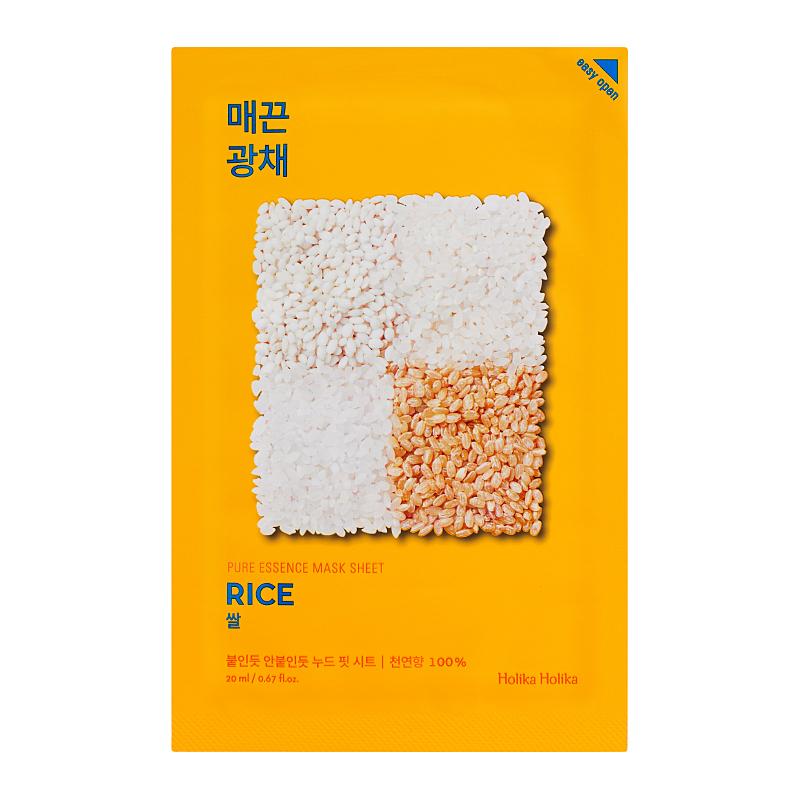 Masca cu orez Pure Essence, 20 ml, Holika Holika