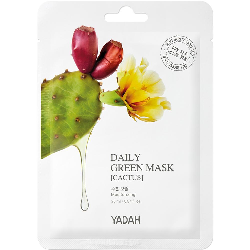 Masca de fata Cactus Daily Green, 25 ml, Yadah